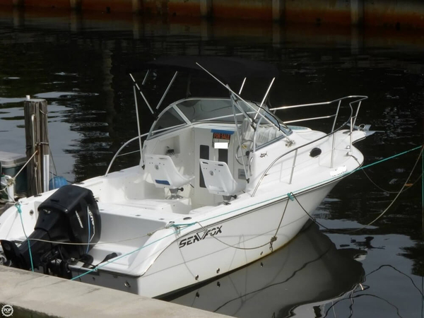 Used Sea Fox 210 Walkaround Fishing Boat For Sale
