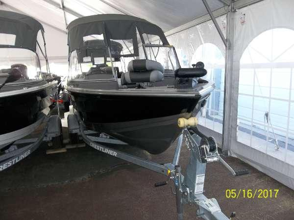 New Crestliner 1650 Fish Hawk WT Freshwater Fishing Boat For Sale