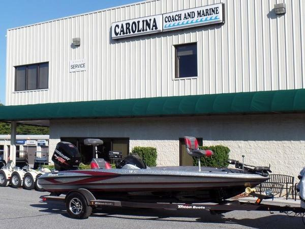 Used Triton 18XS18XS Bass Boat For Sale