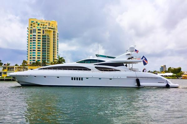 Used Mangusta 130 Mega Yacht For Sale
