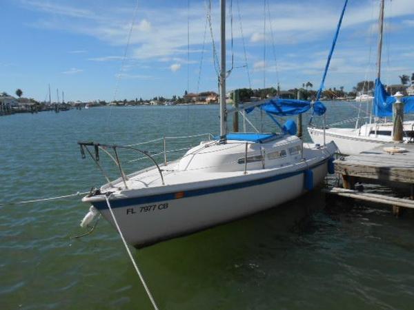 Used Columbia Daysailer Sailboat For Sale