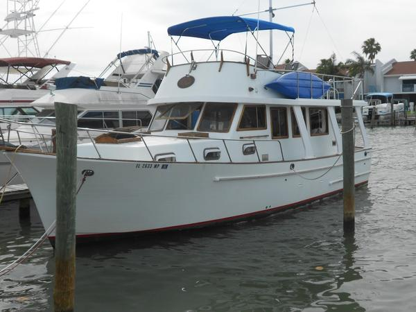 Used Marine Trader Europa Trawler Boat For Sale