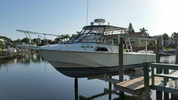 Used Boston Whaler Full Cabin Cuddy Cabin Boat For Sale