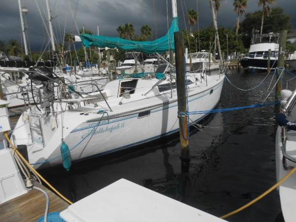Used Catalina Sloop Sailboat For Sale