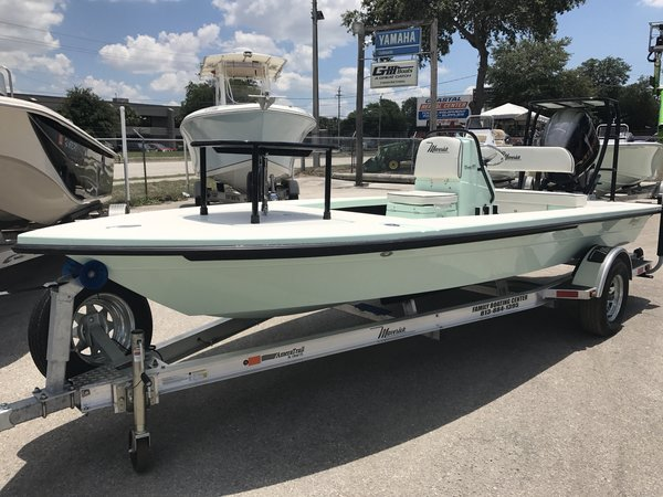 New Maverick Mirage 18 HPX-V Flats Fishing Boat For Sale