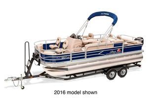 New Sun Tracker Fishin' Barge 22 DLX Pontoon Boat For Sale