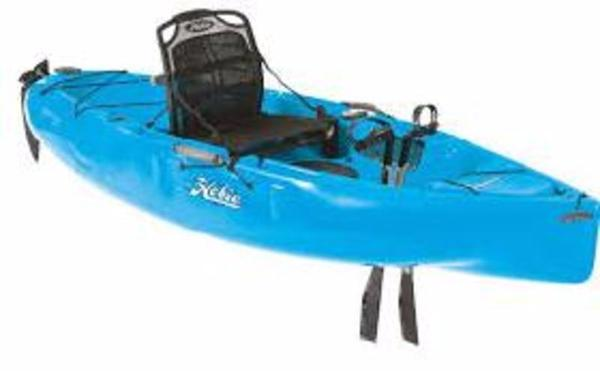 New Hobie Sport, Blue Kayak Boat For Sale