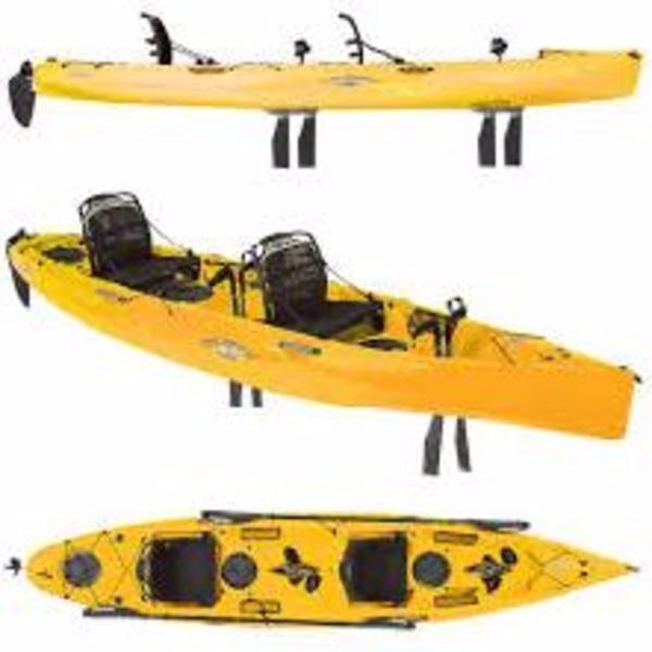 New Hobie Oasis Papaya Kayak Boat For Sale