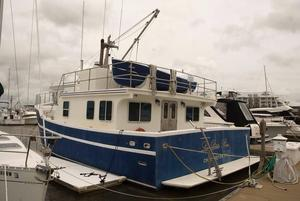 Used Apple Island 45 Pilothouse Trawler Pilothouse Boat For Sale