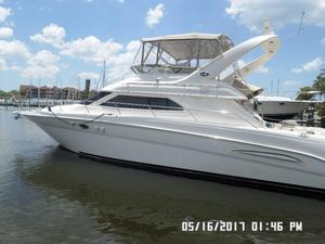 Used Sea Ray 450 Express Bridge Express Cruiser Boat For Sale