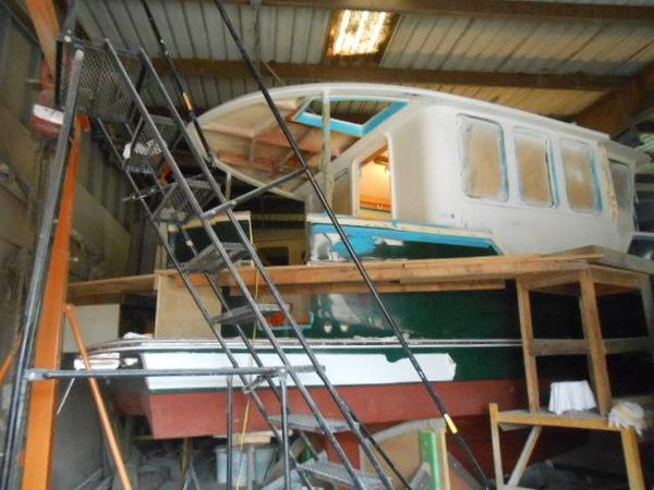 Used Legacy 341 Long Range Trawler Boat For Sale