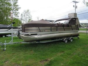 Used Palm Beach Captiva 240 Pontoon Boat For Sale