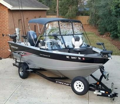 Used Starcraft Superfisherman 186 Freshwater Fishing Boat For Sale