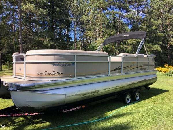 Used Premier Pontoons Sunsation 250 Pontoon Boat For Sale