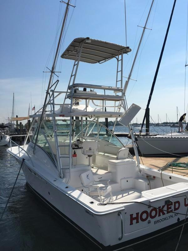 2004 used luhrs 32 open32 open saltwater fishing boat for for Fishing boats for sale nj