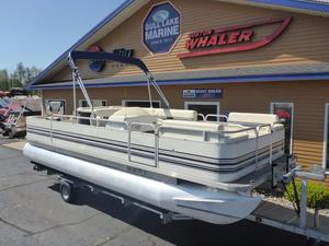 Used Smokercraft 22' Fish/Cruiser Pontoon Boat For Sale