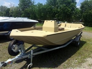 New Lowe Roughneck 1760 Pathfinder Tunnel Jet - Heavy Duty Jon Boat For Sale