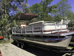 Used Sweetwater 24 ES Pontoon Boat For Sale