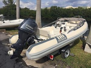 Used Novurania 430 DL Rigid Sports Inflatable Boat For Sale