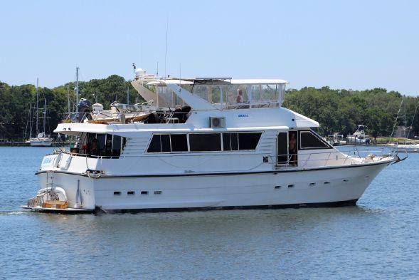 Used Monte Fino 65 Long Range Stabilized My Motor Yacht For Sale