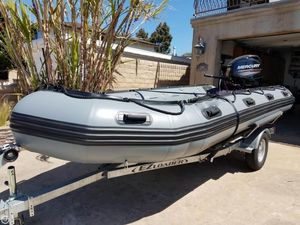 Used Inmar Inflatable Boats 470-PT Inflatable Boat For Sale