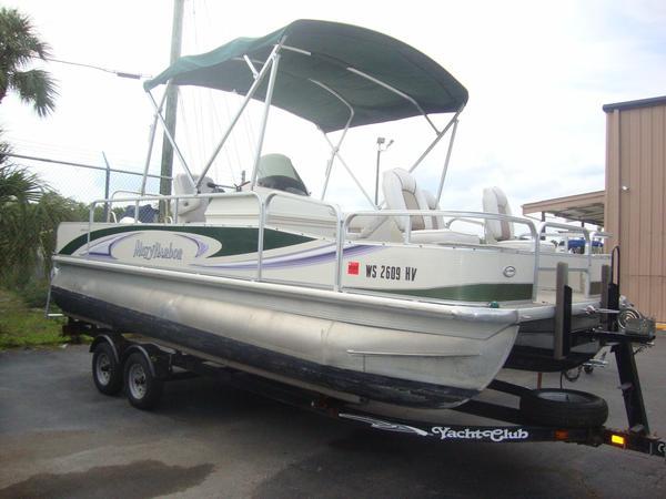 Used Misty Harbor 2085 DF Pontoon Boat For Sale