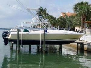 Used Intrepid 377 Walk Around Center Console Fishing Boat For Sale