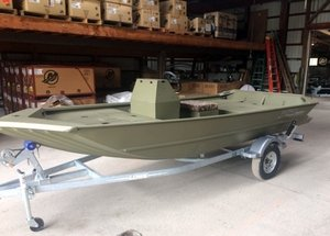 New Lowe Roughneck 1660 Pathfinder Jon Boat For Sale
