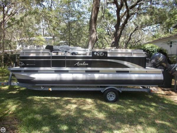 Used Avalon GS2080QL Pontoon Boat For Sale