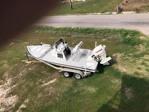 Used Explorer 210 TV Flats Fishing Boat For Sale