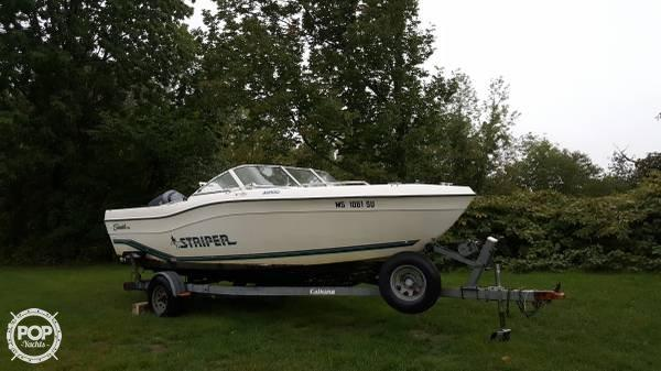 Used Seaswirl Striper 2100 Cruiser Boat For Sale