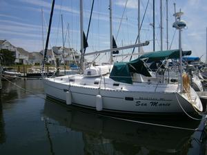 Used Beneteau America 361 Cruiser Sailboat For Sale