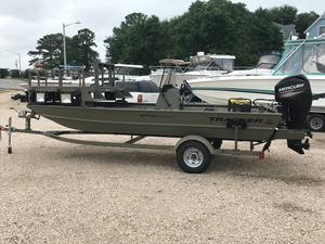 Used Tracker Grizzly 1860 MVX Sportsman Jon Boat For Sale