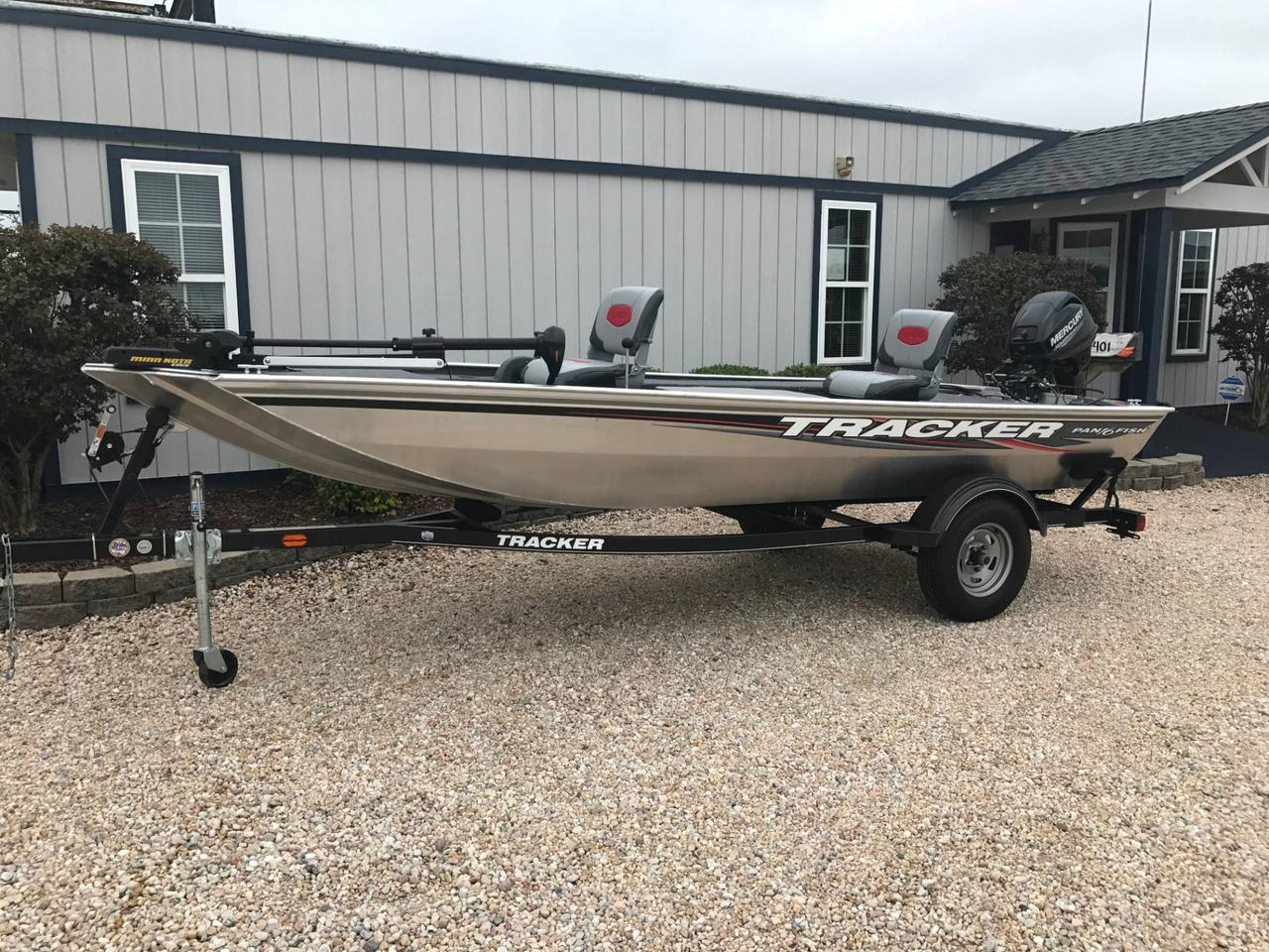 2016 used tracker panfish 16 freshwater fishing boat for