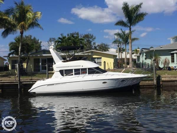 Used Silverton 362 Sedan Bridge Sports Fishing Boat For Sale