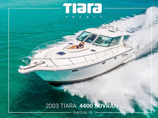 Used Tiara 4400 Sovran Express Cruiser Boat For Sale