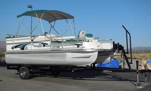 Used Landau DX-18 Pontoon Boat For Sale
