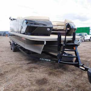 Used Larson Escape 23 TTT Pontoon Boat For Sale