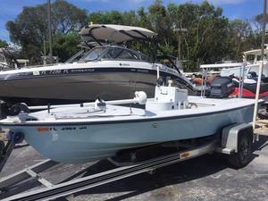 Used Maverick 17 Flats Fishing Boat For Sale