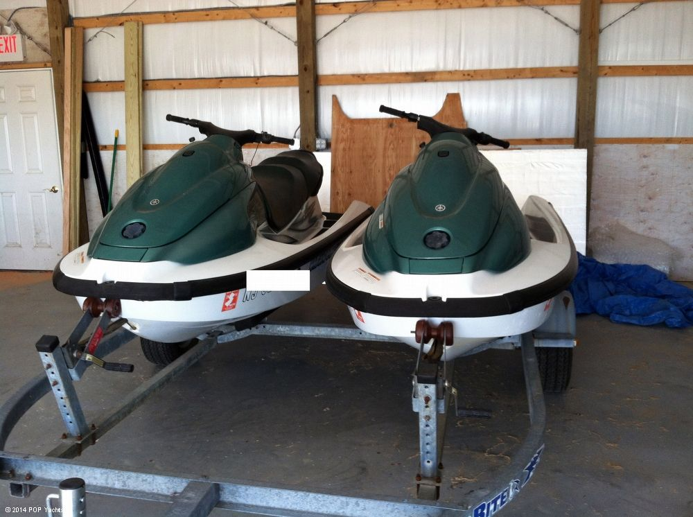 2002 used yamaha 2 xl 700 jet skis w dual trailer personal watercraft for sale 16 000. Black Bedroom Furniture Sets. Home Design Ideas