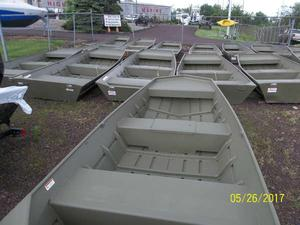 Used Crestliner 1448MT CR Jon Boat For Sale