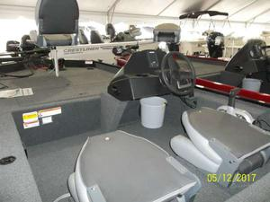 New Crestliner 1600 Storm Bass Boat For Sale