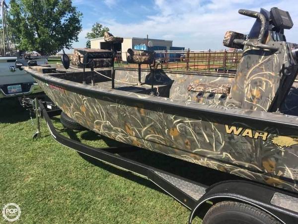 Used War Eagle 2170 CC Black Hawk Bass Boat For Sale