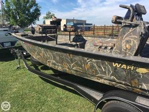 Used War Eagle 2170 CC Black Hawk Bass Boat For Sale