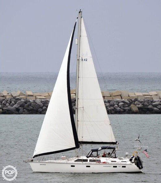 Used Hunter 42 Passage Sloop Sailboat For Sale