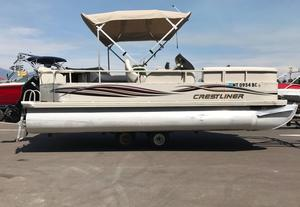 Used Crestliner 2085 Sport Pontoon Boat For Sale