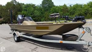 Used G3 1756SC Aluminum Fishing Boat For Sale
