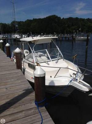 Used Aquasport 225 Walkaround Fishing Boat For Sale