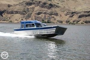 Used Thunder Jet Landing Craft 28 Aluminum Fishing Boat For Sale