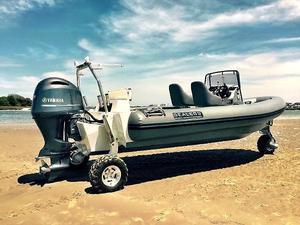 Used Sealegs 7.7M Rib Rigid Sports Inflatable Boat For Sale